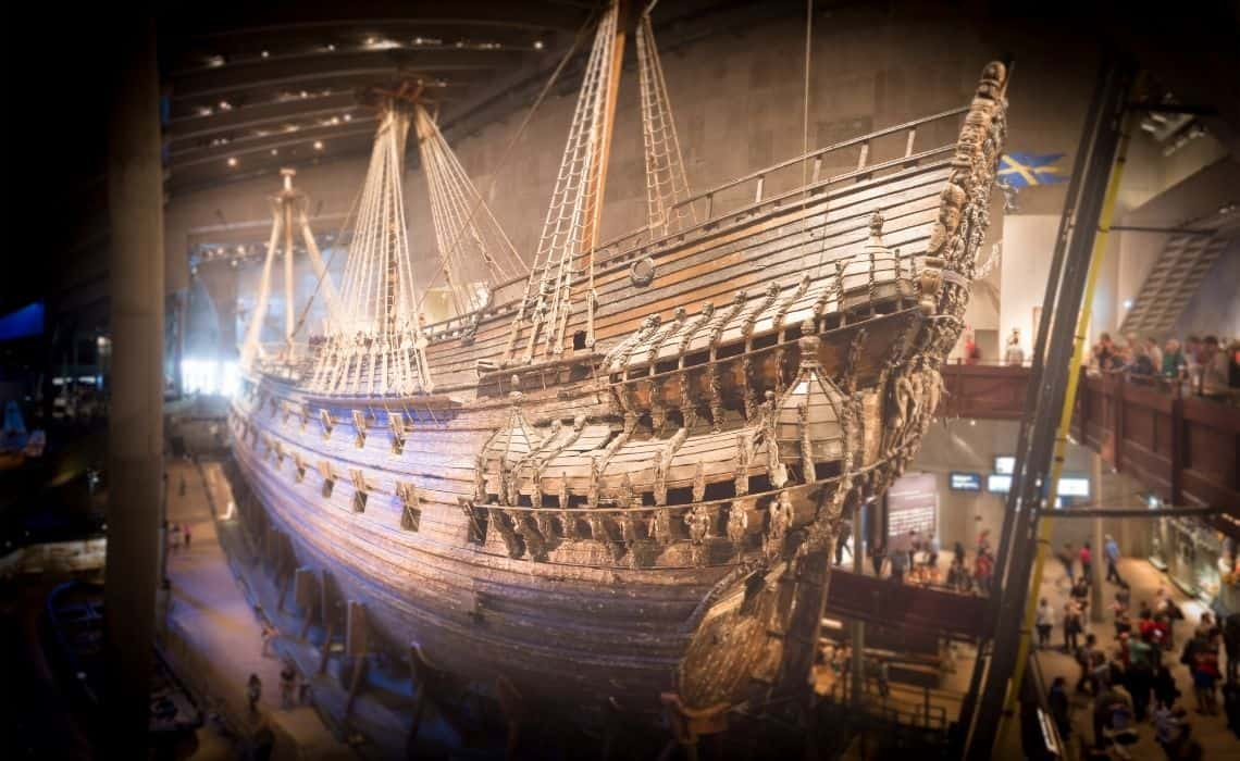 A visit to the Vasa Warship Museum is a must see attraction in Stockholm