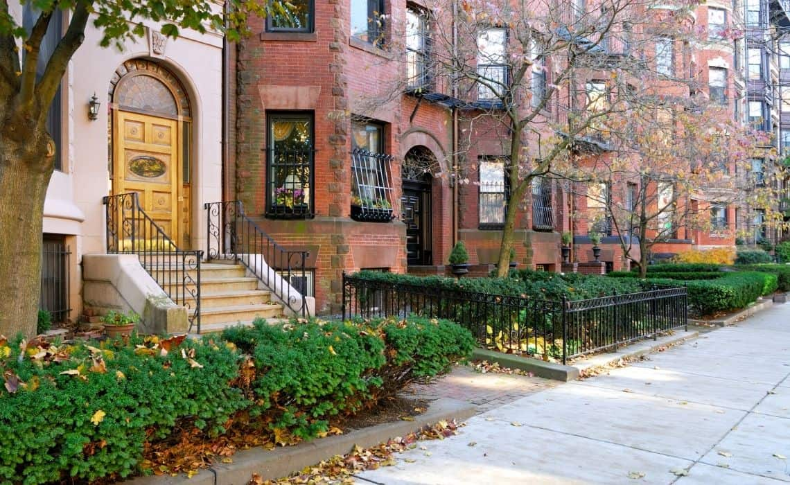 Back Bay is a great place to stay on a self guided tour of Boston