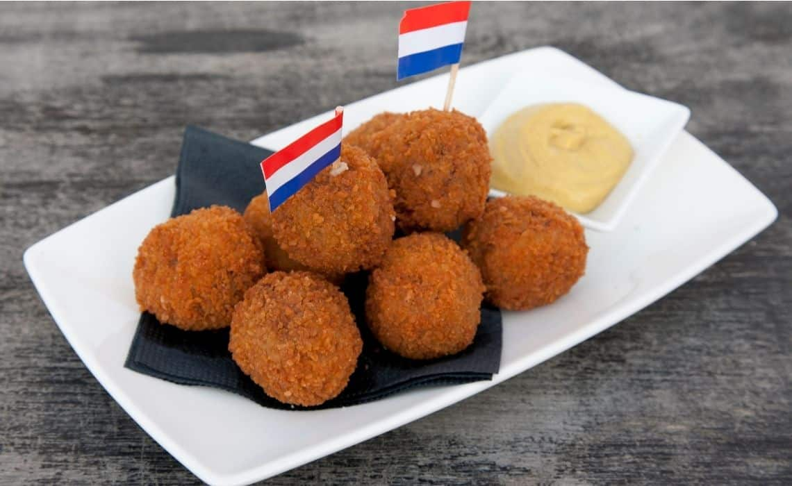 Bitterballen are the perfect snack after an Amsterdam self-guided walking tour
