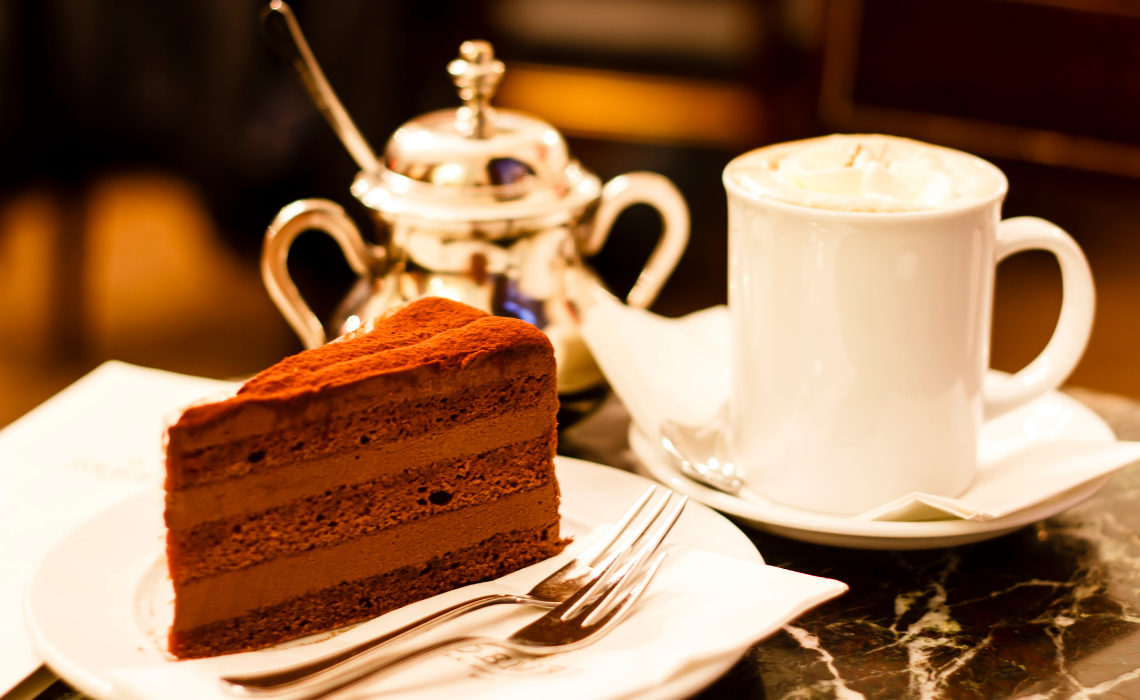 Coffee houses are the perfect break after a Vienna Walking Tour