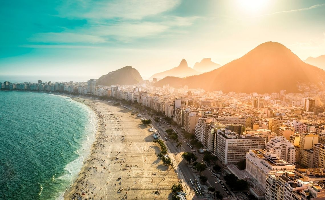 Copacabana Beach attractions in rio de janeiro
