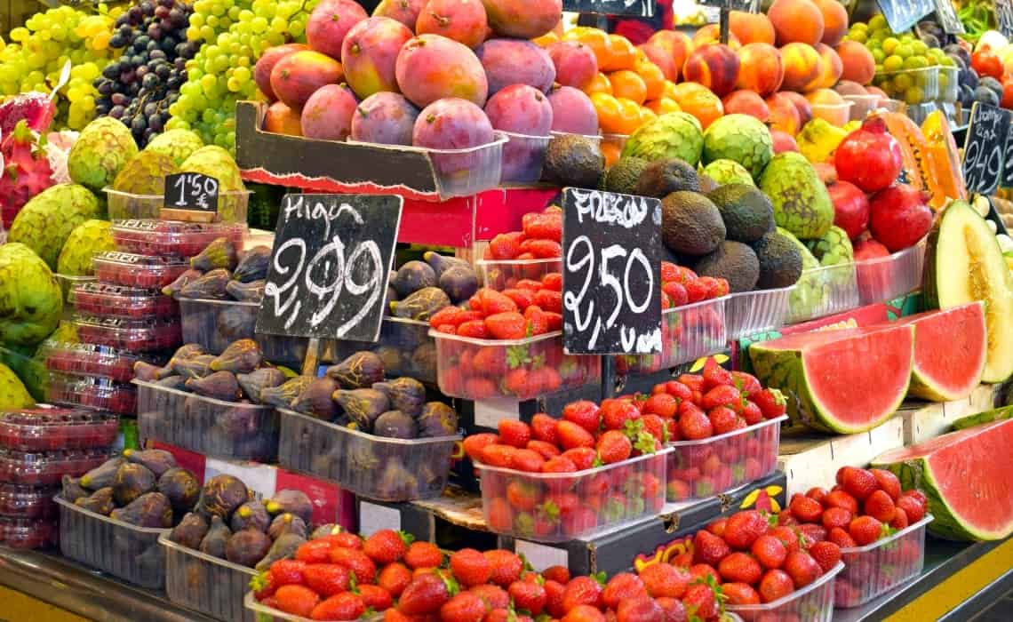 Enjoy the Best Markets on your self guided walking tour of barcelona