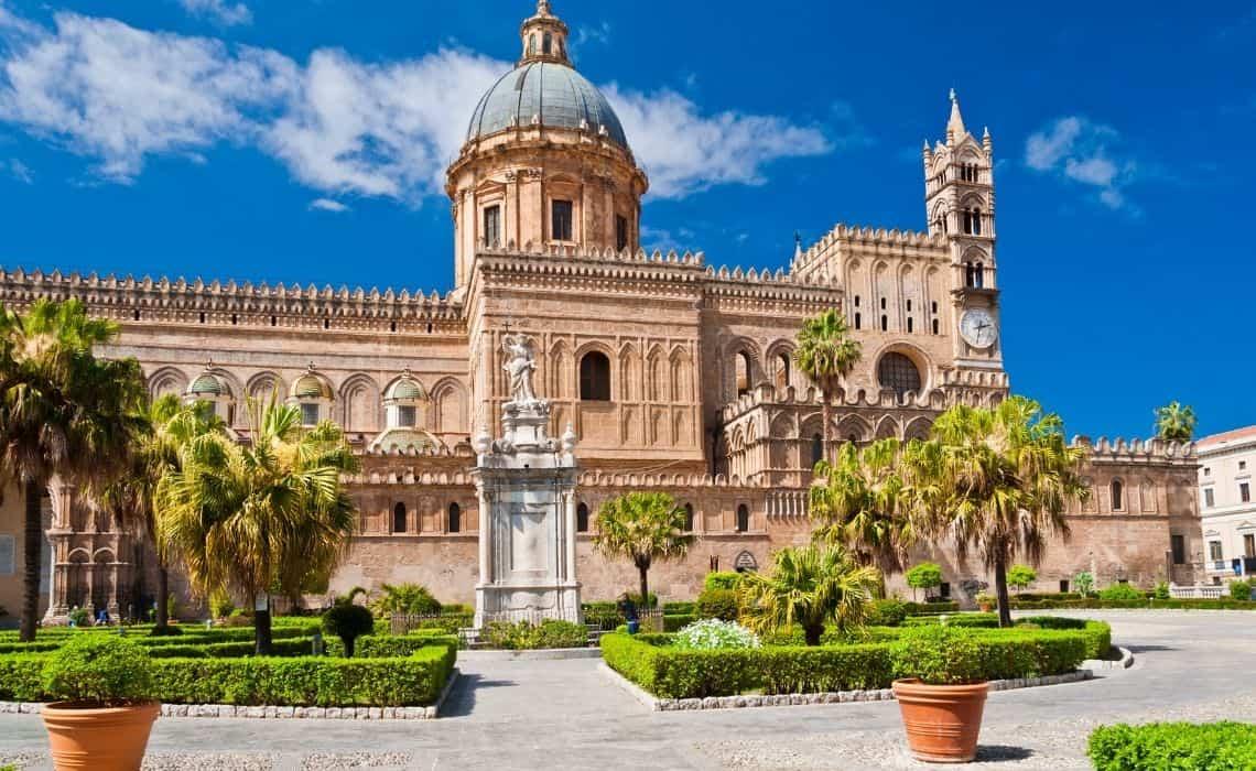 Enjoy a walking tour of Palermo Cathedral
