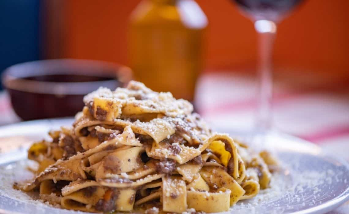 Pappardelle Cinghiale Pisa things to eat