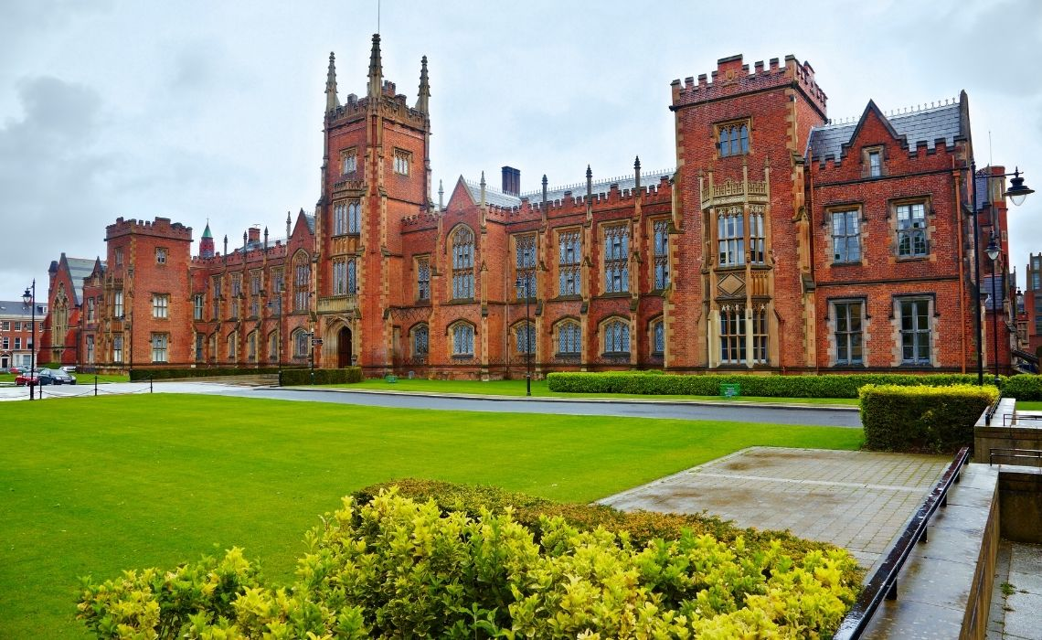 Queens University on a Belfast self guided walking tour
