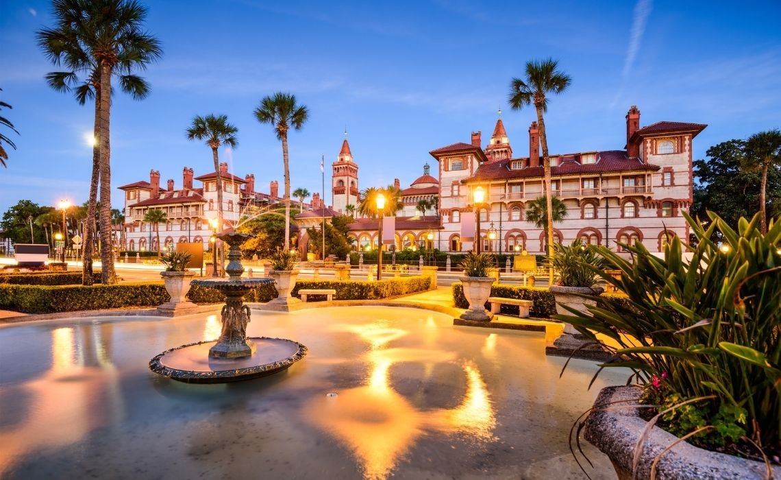 St. Augustine Walking Tours historic downtown