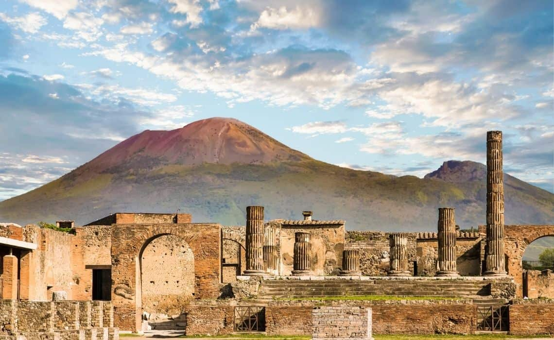 Take a trip to Pompeii from Naples Italy