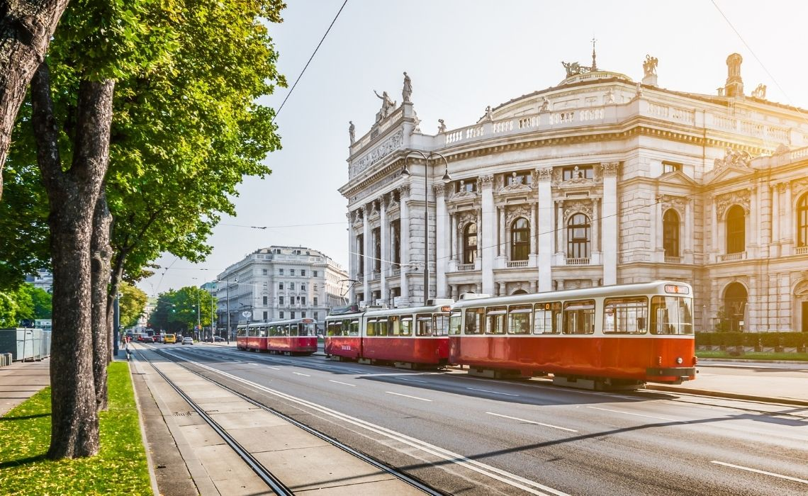 Take in the stunning architecture on a walking tour of Vienna