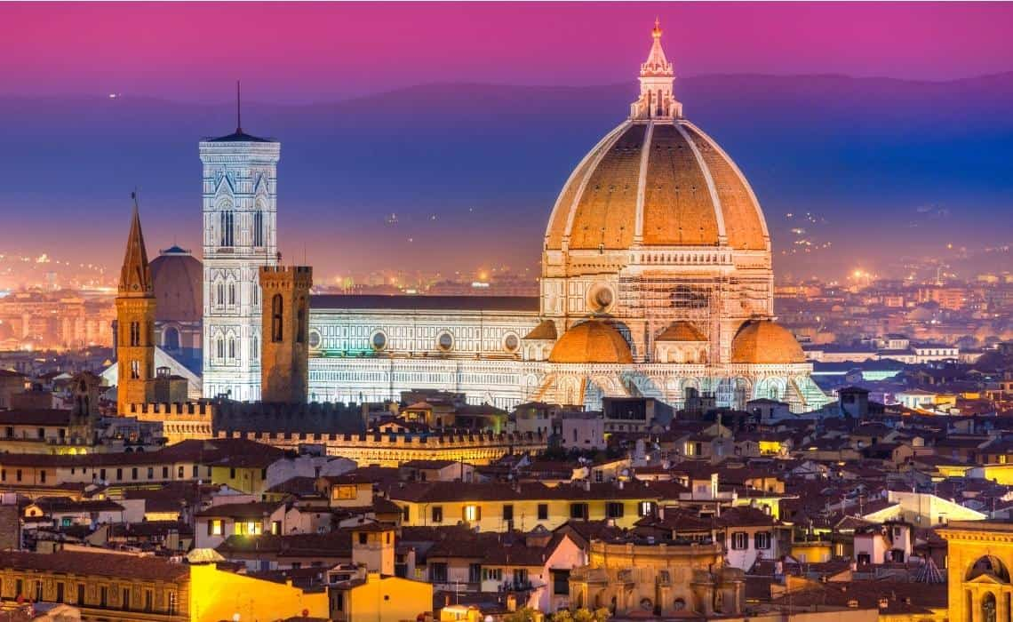 The Duomo is a must see on your self guided tour of Florence
