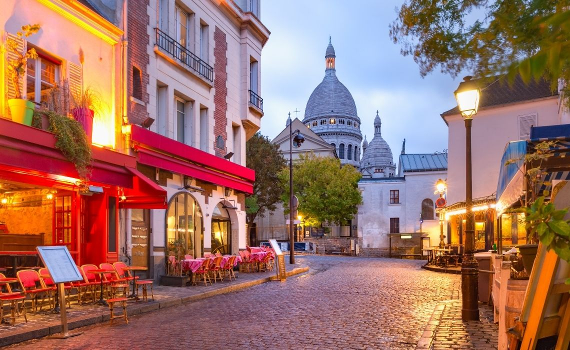 The charm of Montmartre Paris walking tours in English