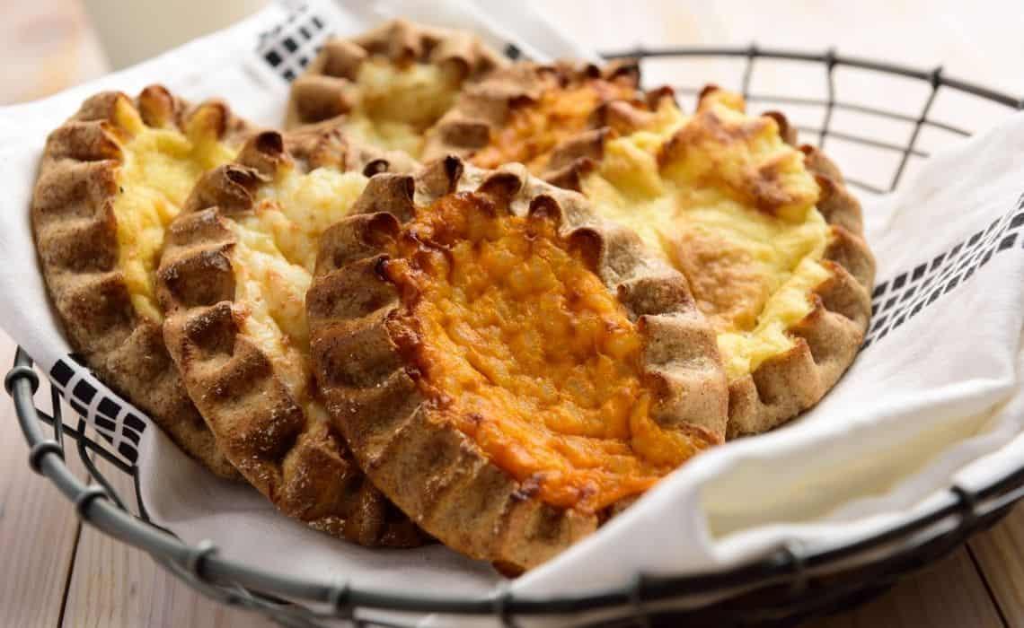 What to eat in Helsinki Finland Karelian pies