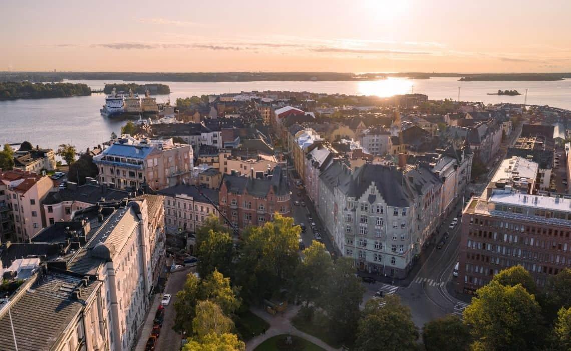 Where to stay with family in Helsinki - Katajanokka Neighborhood