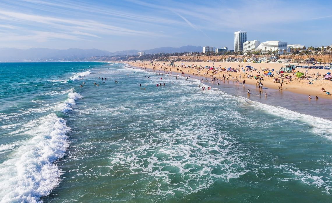 santa monica where to stay in los angeles