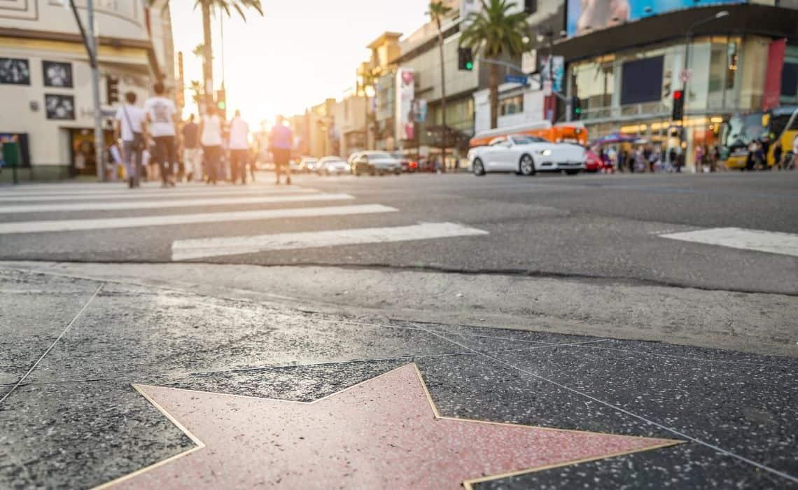 walking tour of Hollywood