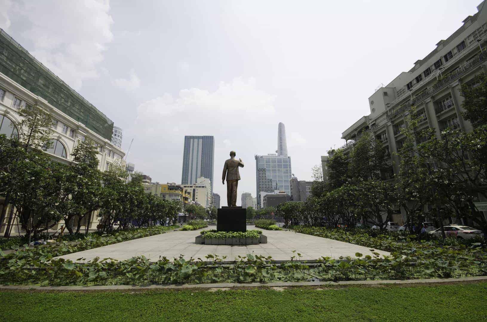 12. Ho Chi Minh Statue Ngyen Hue