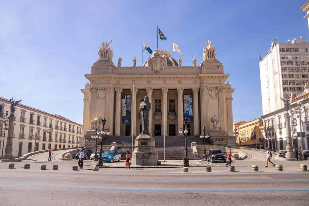Rio de Janeiro City Center - #13 Tiradentes Palace