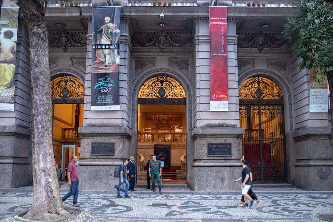 Rio de Janeiro City Center - #14 National Museum of Fine Arts II