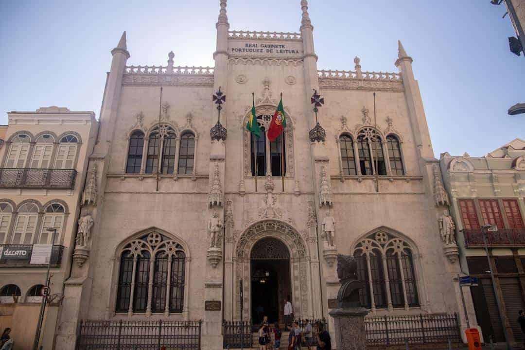 Rio de Janeiro City Center - #4 Royal Portuguese Cabinet of Reading II