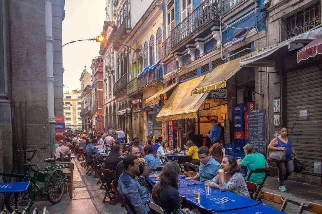 Rio de Janeiro City Center - #7 Ouvidor Street