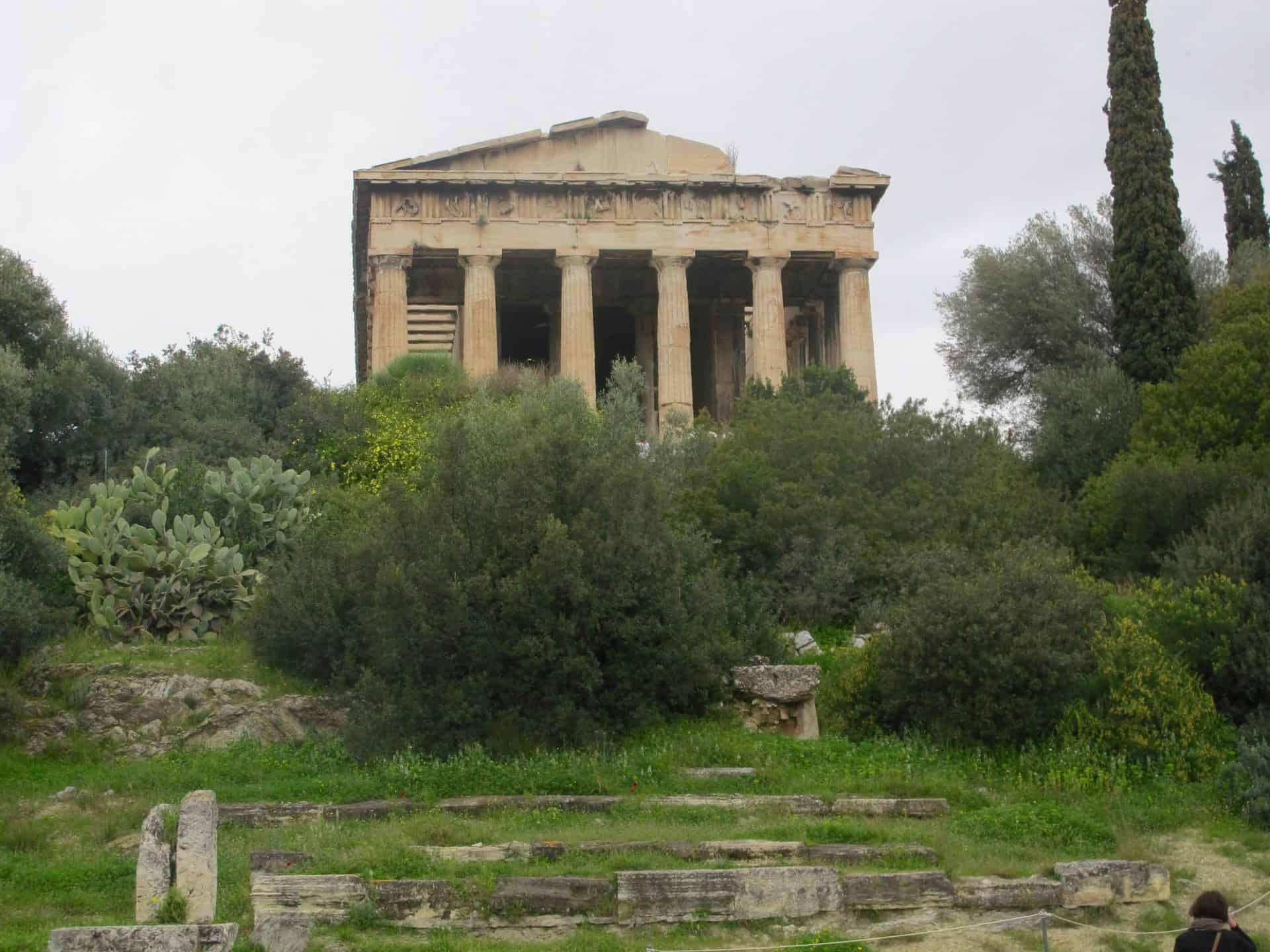 athens_agora3) Stoa of Zeus and the Royal Stoa