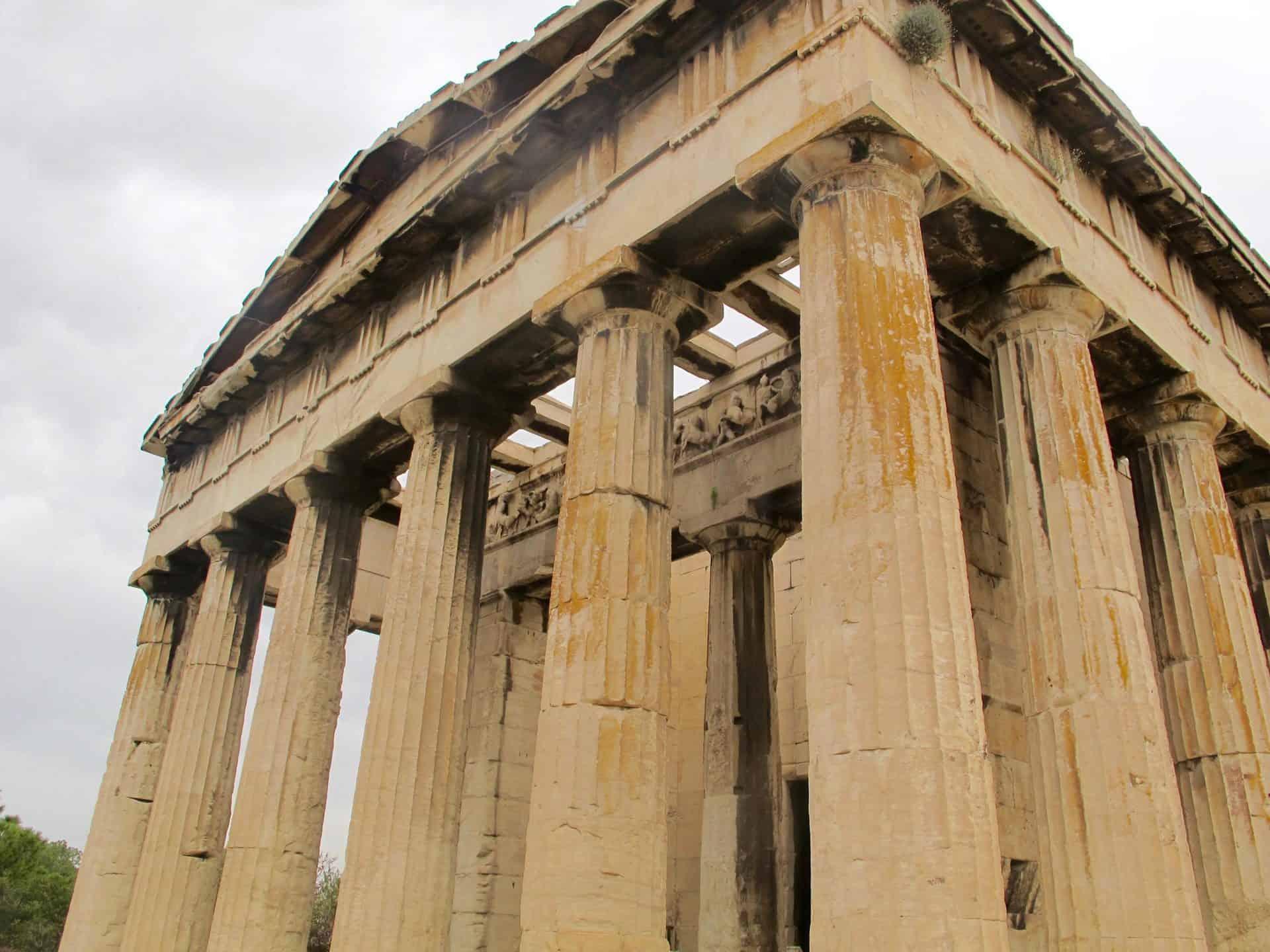 athens_agora4) Temple of Hephaestus