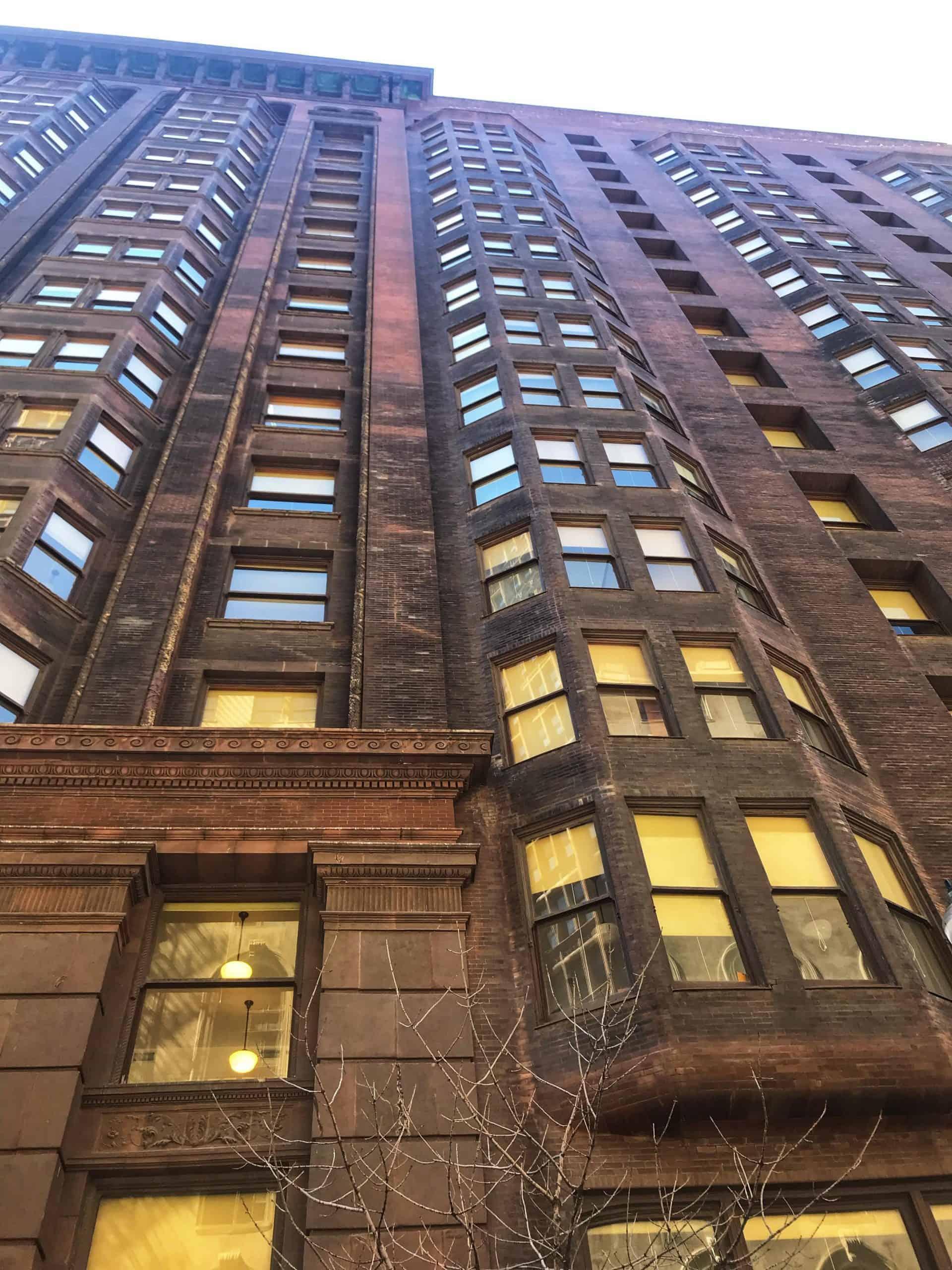 chicagoarchitecture_Point 9 Monadnock Building