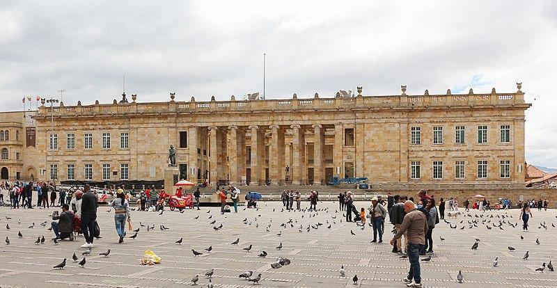 essentialbogota_TP2_4th_La Plaza de Bolivar - Buildings_El Capitolio Nacional_Bgag