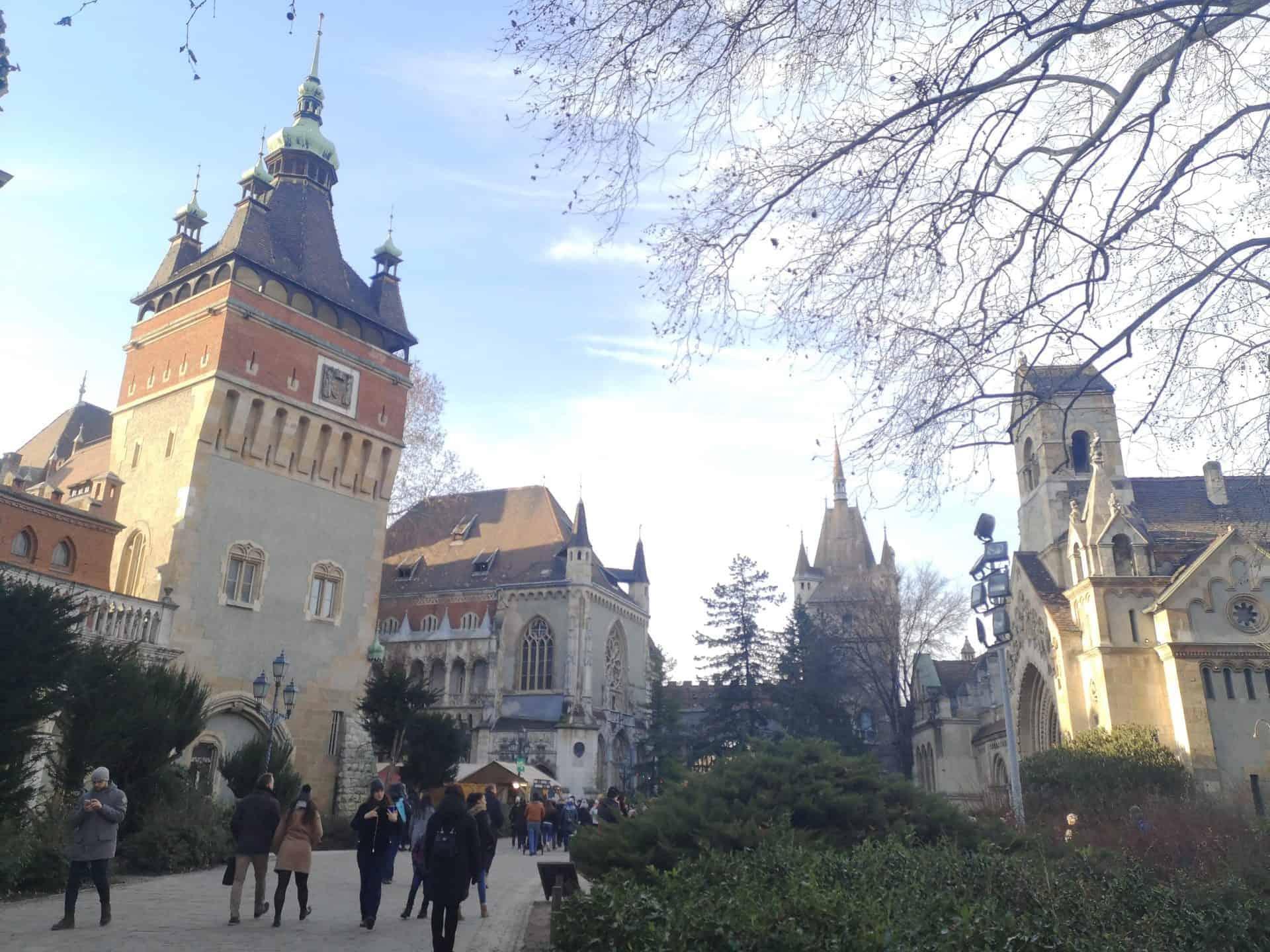 historicalbudapest_Millennial Budapest 10 - Vajdahunyad Castle_A