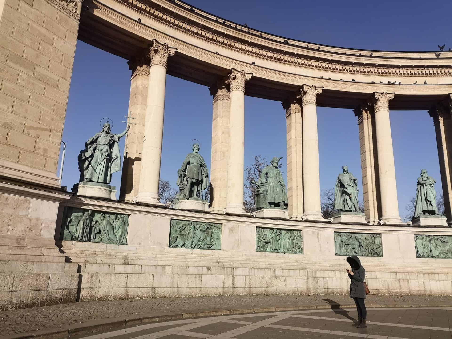 historicalbudapest_Millennial Budapest 6 - Millennial Monument_B