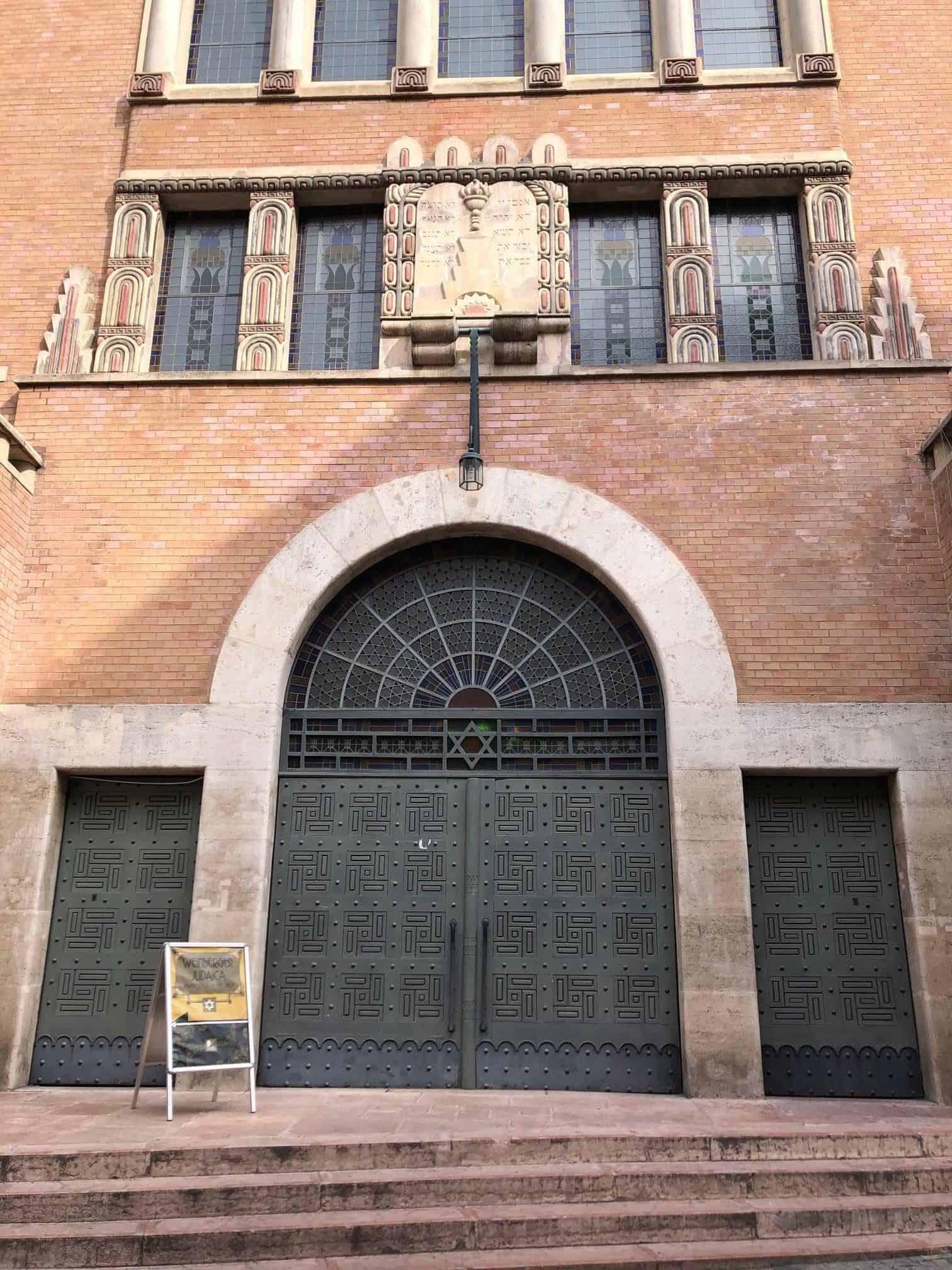 jewishbudapest_Kazinczy synagoge_entrance