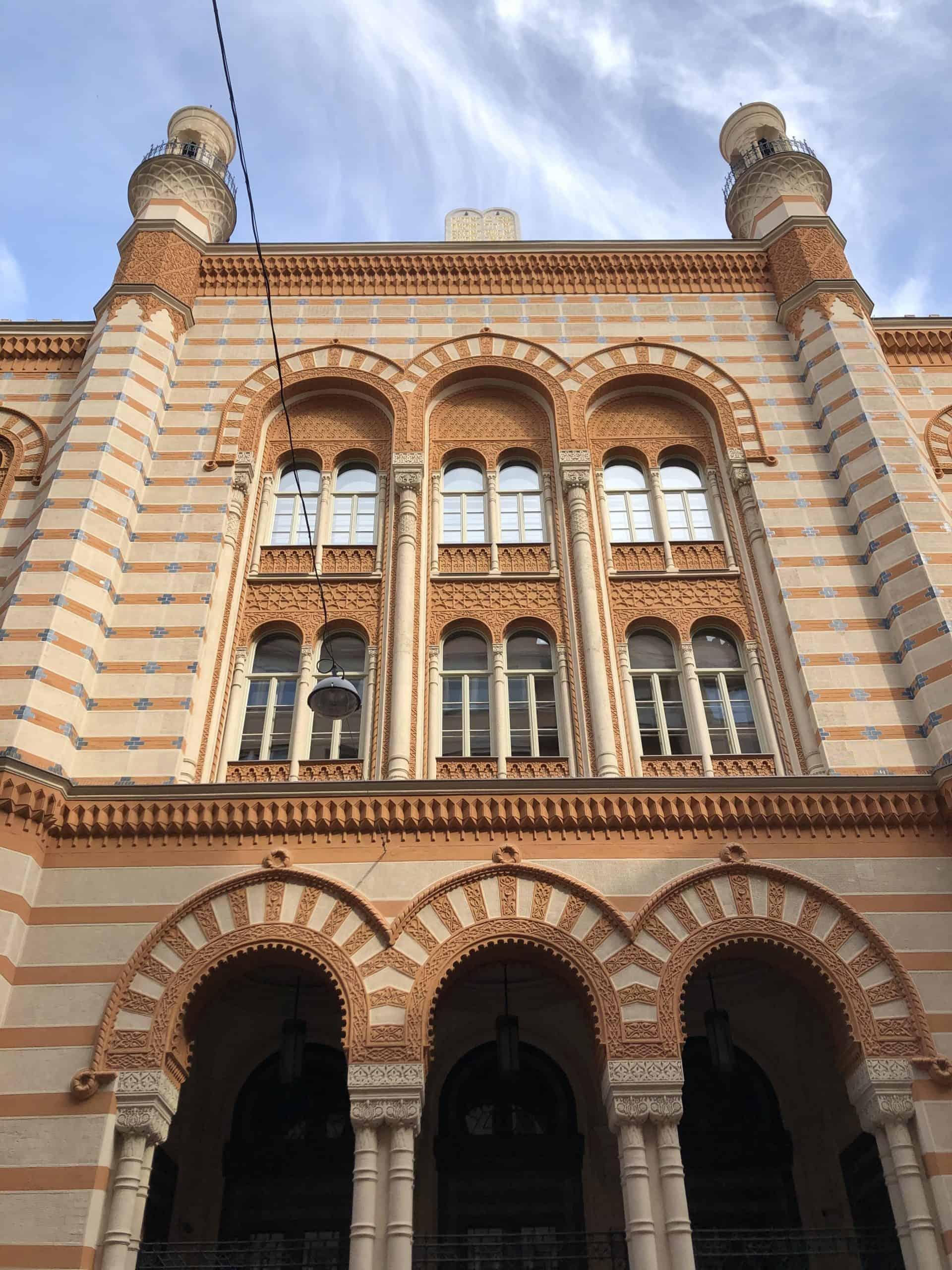 jewishbudapest_Rumbach synagogue_entrance