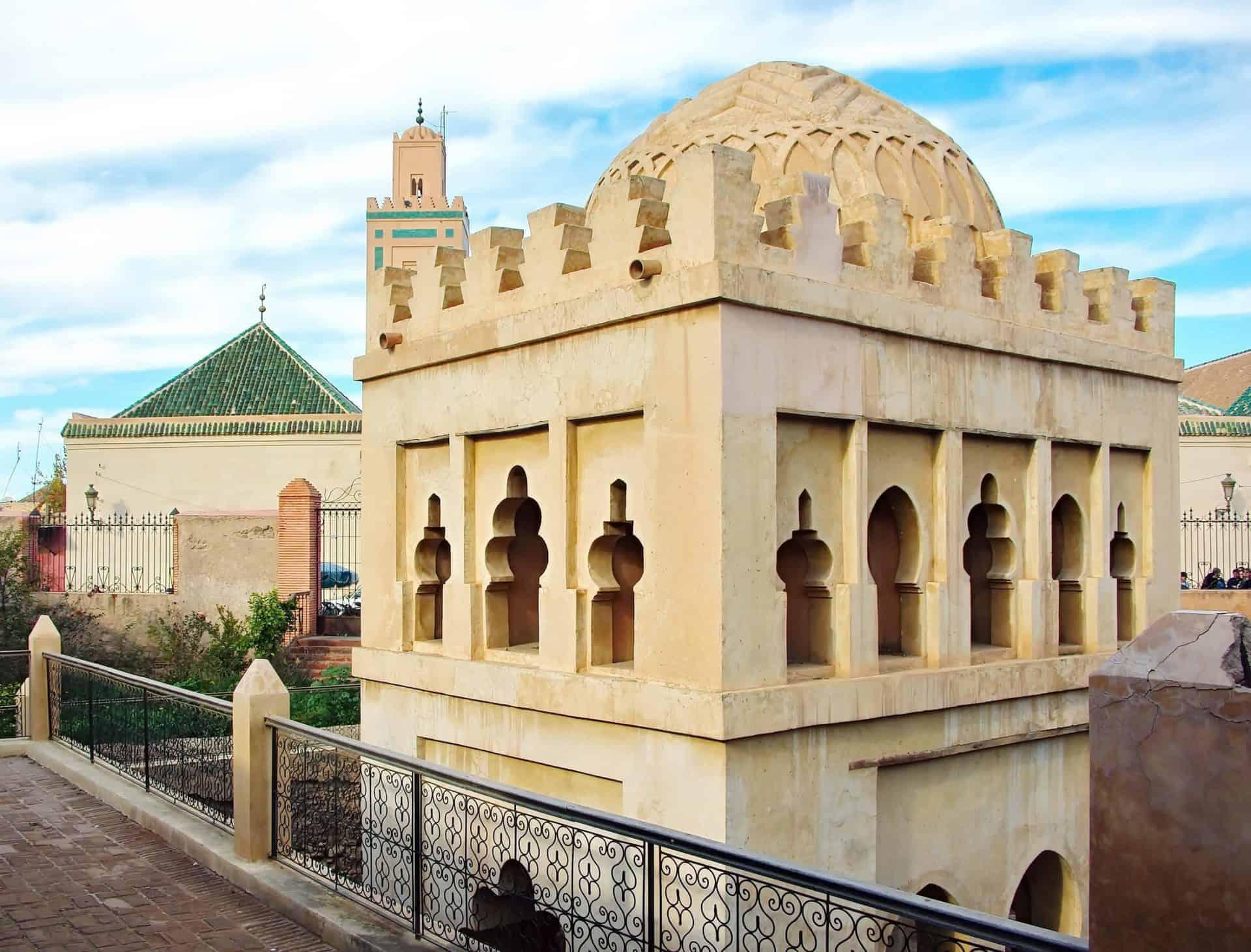 marrakeshsouksandscholars_4) Almoravid Koubba (Royalty Free, Pixabay.com)