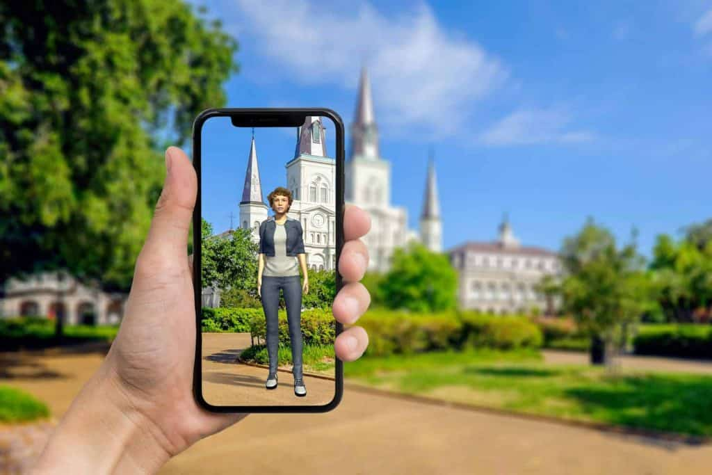 Meet Sherpa Tours augmented reality tour guide