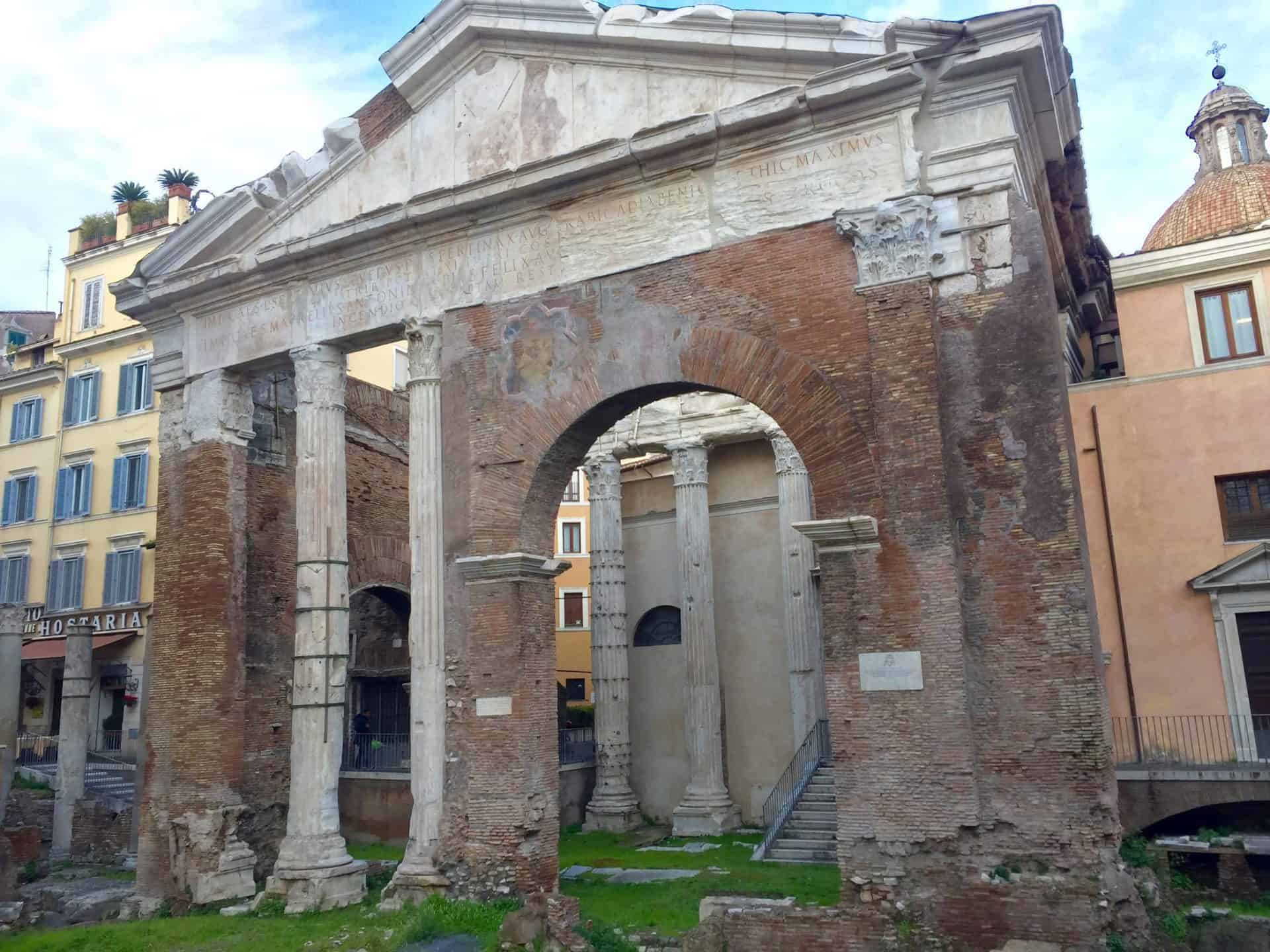 rome_fromcapitoline2) Portico of Octavia