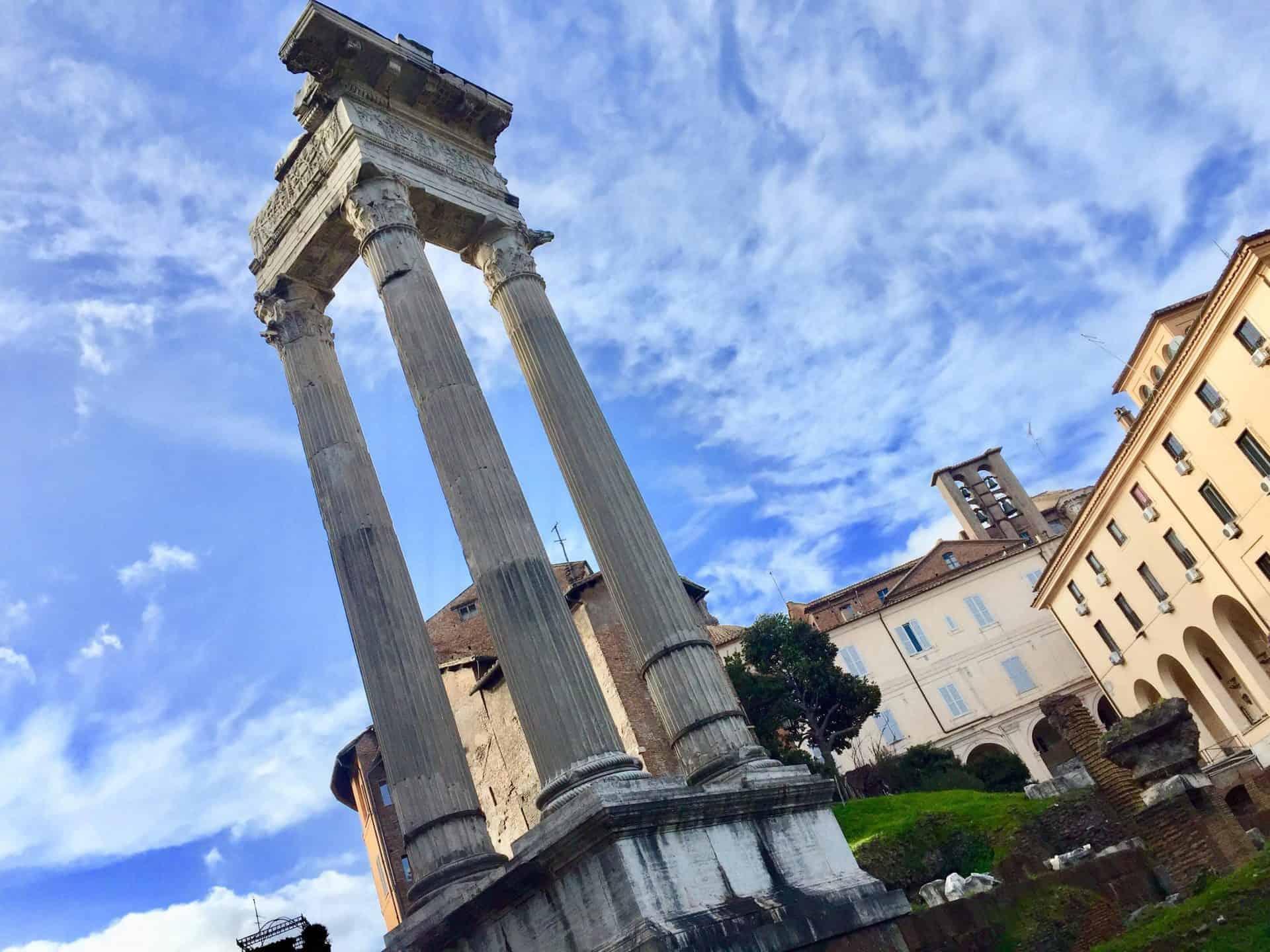 rome_fromcapitoline3) Temple of Apollo