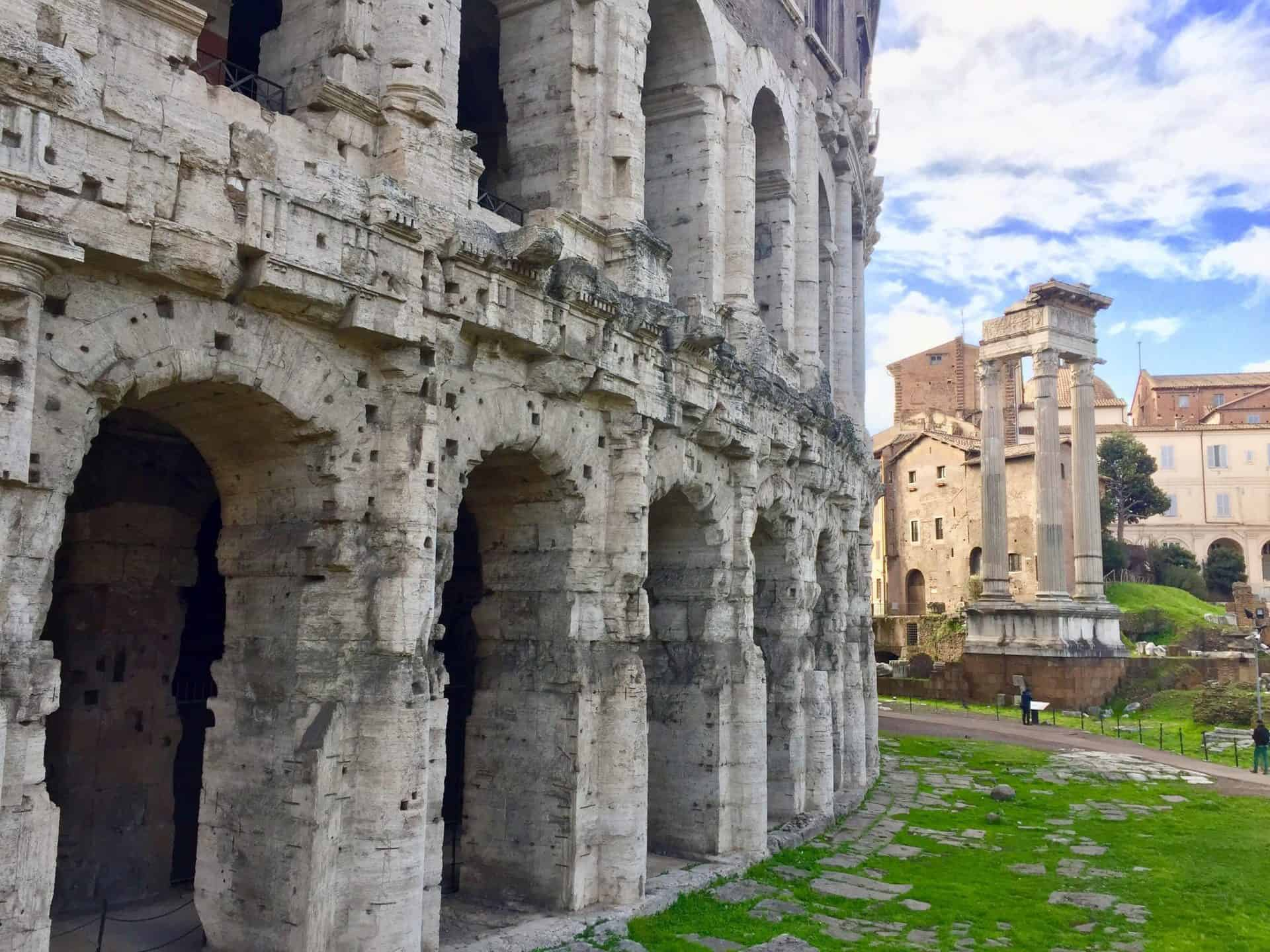rome_fromcapitoline4) Theatre of Marcellus